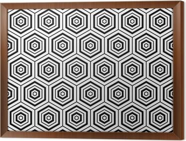 Carta da parati esagoni texture. seamless disegno geometrico