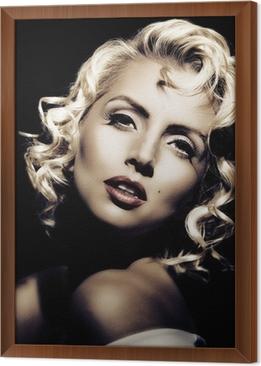 Adesivo Imitazione di Marilyn Monroe. stile retrò • Pixers ...