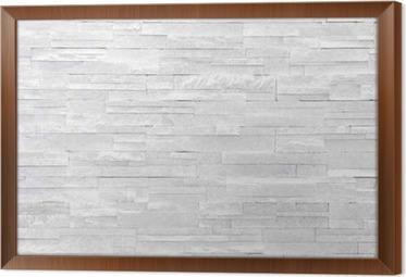Carta da parati muro di pietra sfondo bianco. piastrelle di pietra