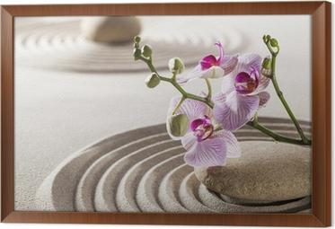 Carta da parati puro benessere con orchidee zen u2022 pixers® viviamo