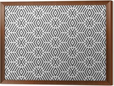 Carta da parati seamless texture geometrica. esagoni modello