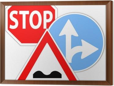 Cartelli Bagno Da Stampare : Poster segnali stradali segnaletica verticale u2022 pixers® viviamo
