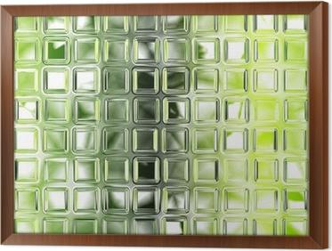 Excellent Quadro In Cornice Senza Soluzione Di Piastrelle Di Vetro Verde  Texture Di Sfondo Cucina O With Soluzioni No Piastrelle Cucina