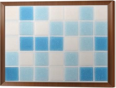 Piastrelle bianche e blu. paint piastrelle blu guarda le collezioni