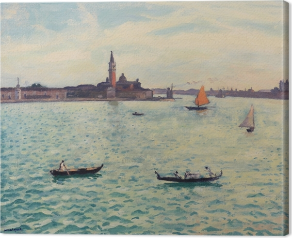 Quadro su Tela Albert Marquet - Venezia - Reproductions