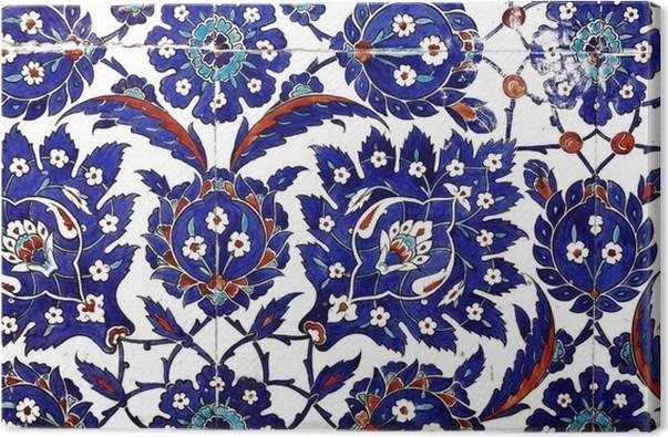 Quadro su tela antichi turco piastrelle fatte a mano u2022 pixers