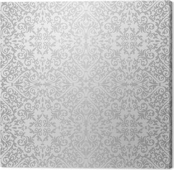 Quadro su Tela Argento modello luminoso barocco