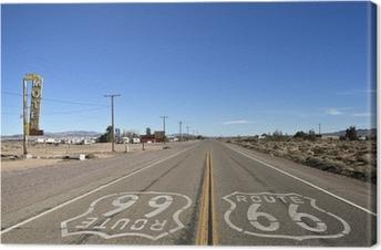 Quadro su Tela Baghdad California - Historic Route 66