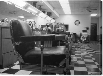 Quadro su Tela Barber shop