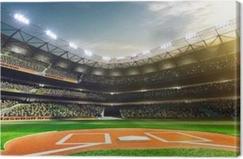 Quadro su Tela Baseball professionistico Grand Arena alla luce del sole