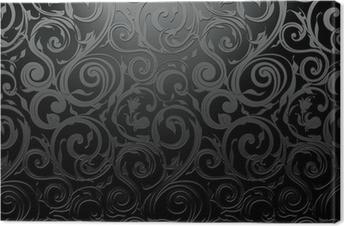Quadro su Tela Black Wallpaper senza soluzione di continuità