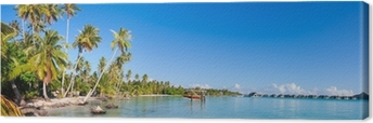 Quadro su Tela Bora Bora panorama