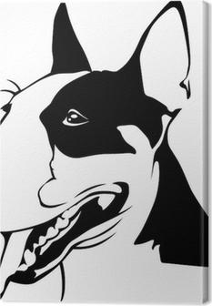 Quadro su Tela Bull Terrier - Ritratto
