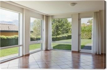 Quadri su tela finestra con vista pixers viviamo per il cambiamento - Quadri con finestre ...