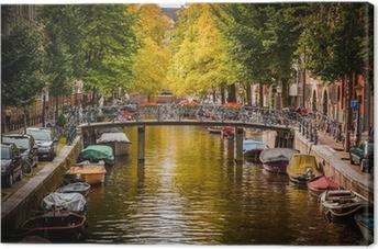 Quadro su Tela Canale di Amsterdam