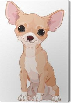Quadro su Tela Chihuahua
