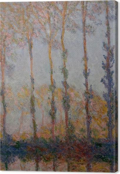 Quadro su Tela Claude Monet - Pioppi sulle rive del Epte - Riproduzioni