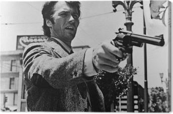 Quadro su Tela Clint Eastwood