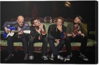 Quadro su Tela Coldplay