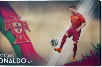 Quadro su Tela Cristiano Ronaldo