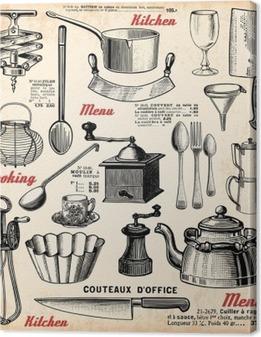 Quadri su Tela Accessori per cucina • Pixers® - Viviamo per ...