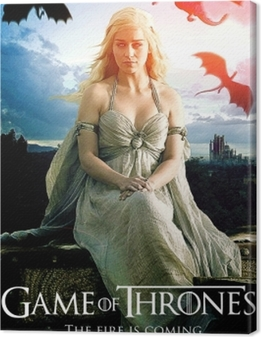 Quadro su Tela Daenerys Targaryen