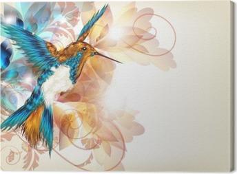 Quadri su tela colibri pixers viviamo per il cambiamento for Immagini cavalli stilizzati