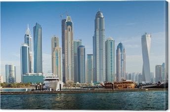 Quadro su Tela Dubai Marina, Emirati Arabi Uniti