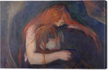 Quadro su Tela Edvard Munch - Vampiro