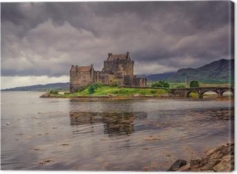 Quadro su Tela Eilean Donan Castle, Highlands, Scozia