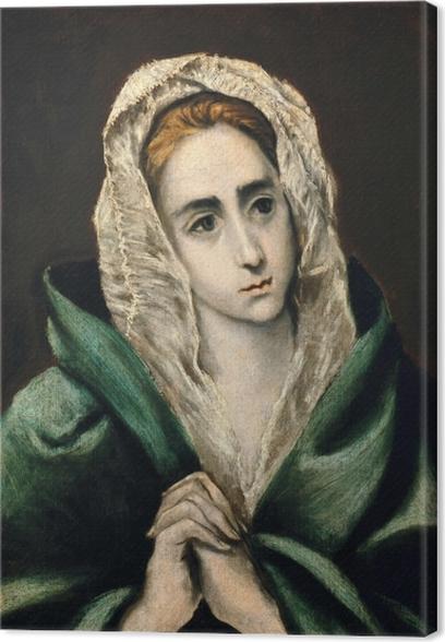 Quadro su Tela El Greco - Mater Dolorosa - Riproduzioni
