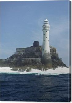 Quadro su Tela Faro, Fastnet Rock, Contea di Cork, Irlanda
