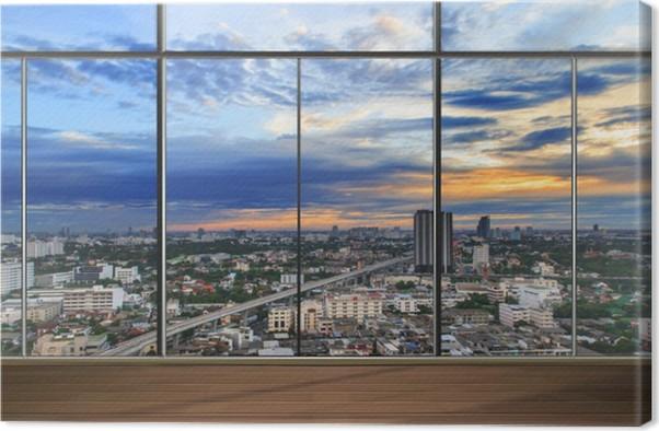 Quadri Moderni Per Ufficio : Quadro su tela finestre in ufficio moderno u2022 pixers® viviamo per