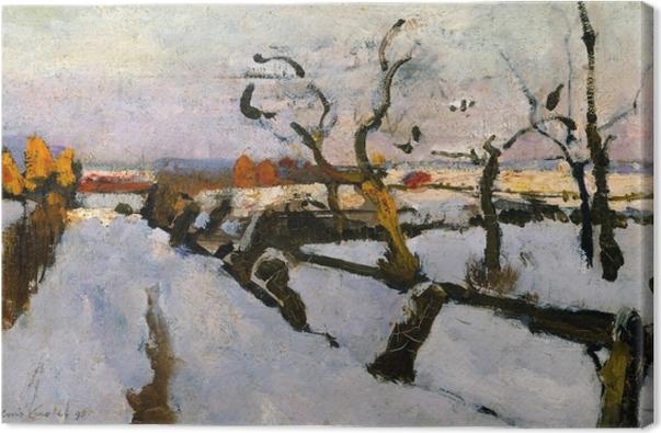 Quadro su Tela Floris Verster - Studio della neve - Reproductions