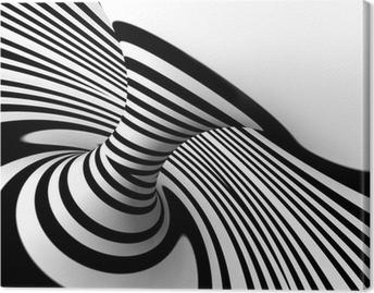 Quadro su Tela Fondo abstracto lineas della truffa