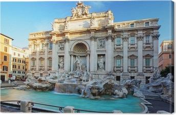 Quadro su Tela Fontana di Trevi, Roma, Italia