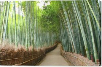 Quadro su Tela Foret de bambou à Kyoto