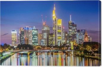 Quadro su Tela Frankfurt Skyline