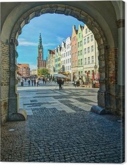 Quadro su Tela Gdansk-Old-Town-6