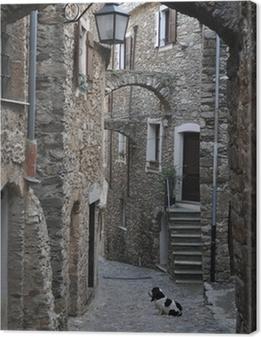 Quadro su Tela Genova Caruggio