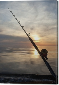 Quadro su Tela Gioco di pesca d'alto mare