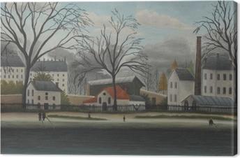 Quadro su Tela Henri Rousseau - Scene Suburban