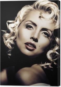 Quadri su Tela Marilyn Monroe • Pixers® - Viviamo per il cambiamento
