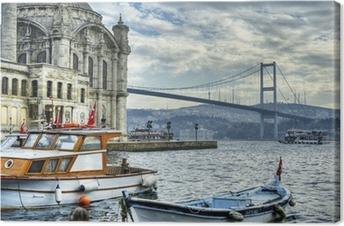 Quadro su Tela In cui si incontrano due continenti: istanbul