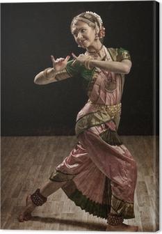 Quadro su Tela Indiano ballerino di danza classica Bharatanatyam