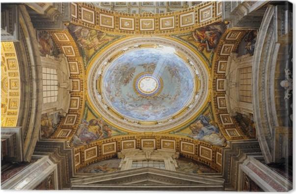 Quadro Su Tela Interno Della Cattedrale Di San Pietro In
