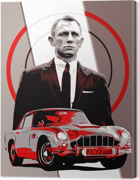 Quadro su Tela James Bond - Temi