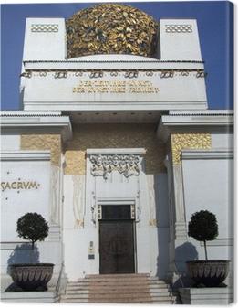 Quadro su Tela La secessione a Vienna
