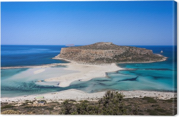 Quadro su Tela La spiaggia di Balos, Granvoussa, Creta • Pixers ...