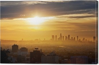Quadro su Tela Los Angeles sunrise